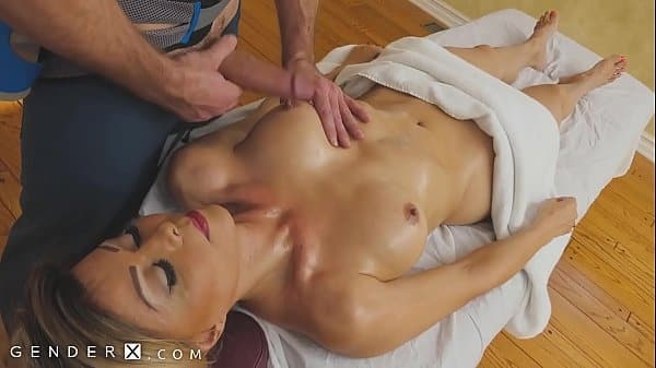 GenderX – Mature TS Woman Gets Erotic Massage
