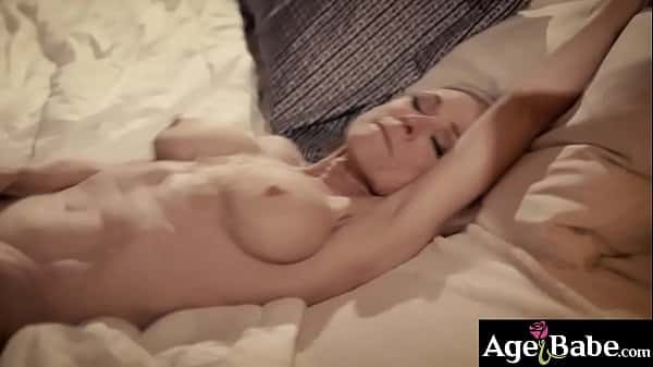 Justin Hunt feels horny after he met this seductive GILF Nina Hurtley and dont waste a chance to fuck her mature cock hungry cunt.